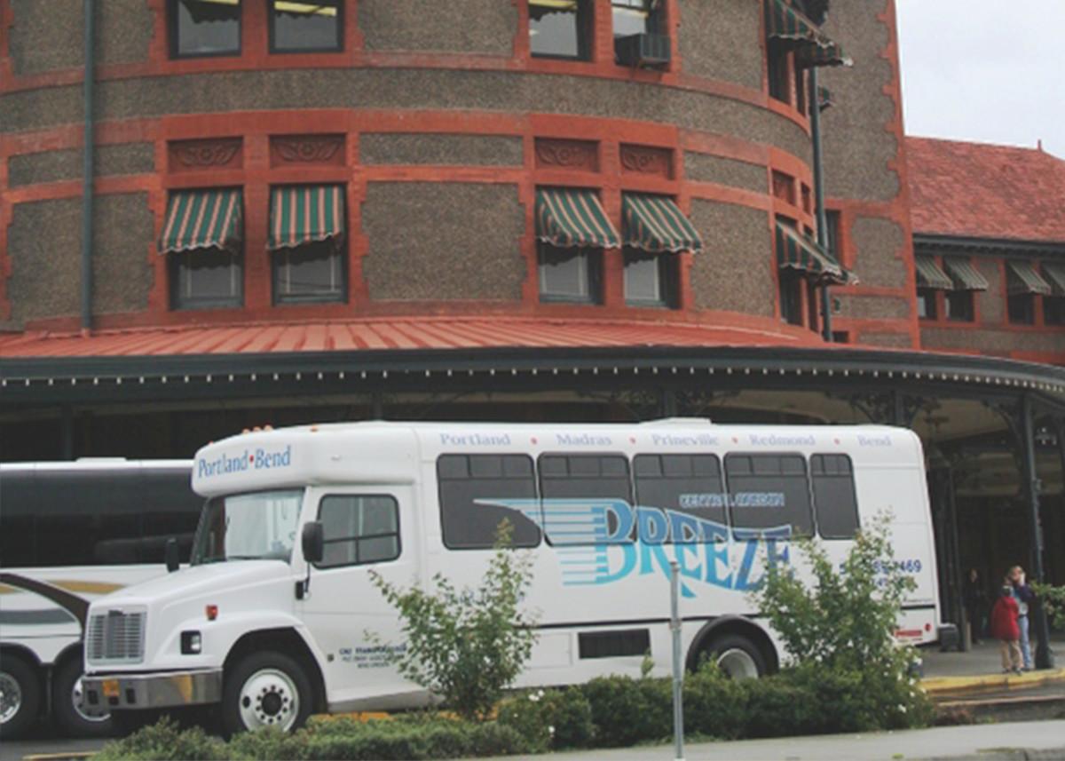 Schedule | CoBreeze Bus Service Between Bend & Portland Oregon